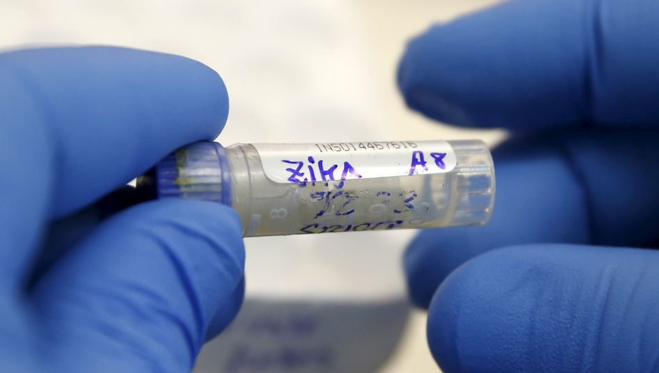 Laboruntersuchung zum Zika-Virus (Archivbild)