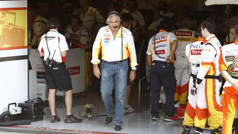 Ehemaliger Teamchef Briatore: Verbannung aus der Rennserie