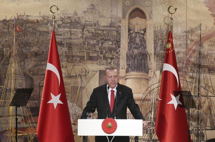 Recep Tayyip Erdogan: Einmarsch als Selbstverteidigung gerechtfertigt