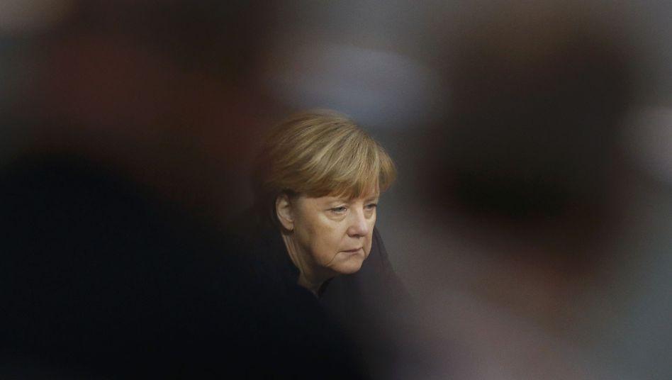 Angela Merkel: Kritik am Leitantrag für den Parteitag