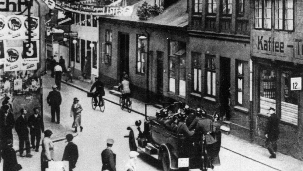 Blutige NSDAP-Demo: Die Lüge von den Heckenschützen