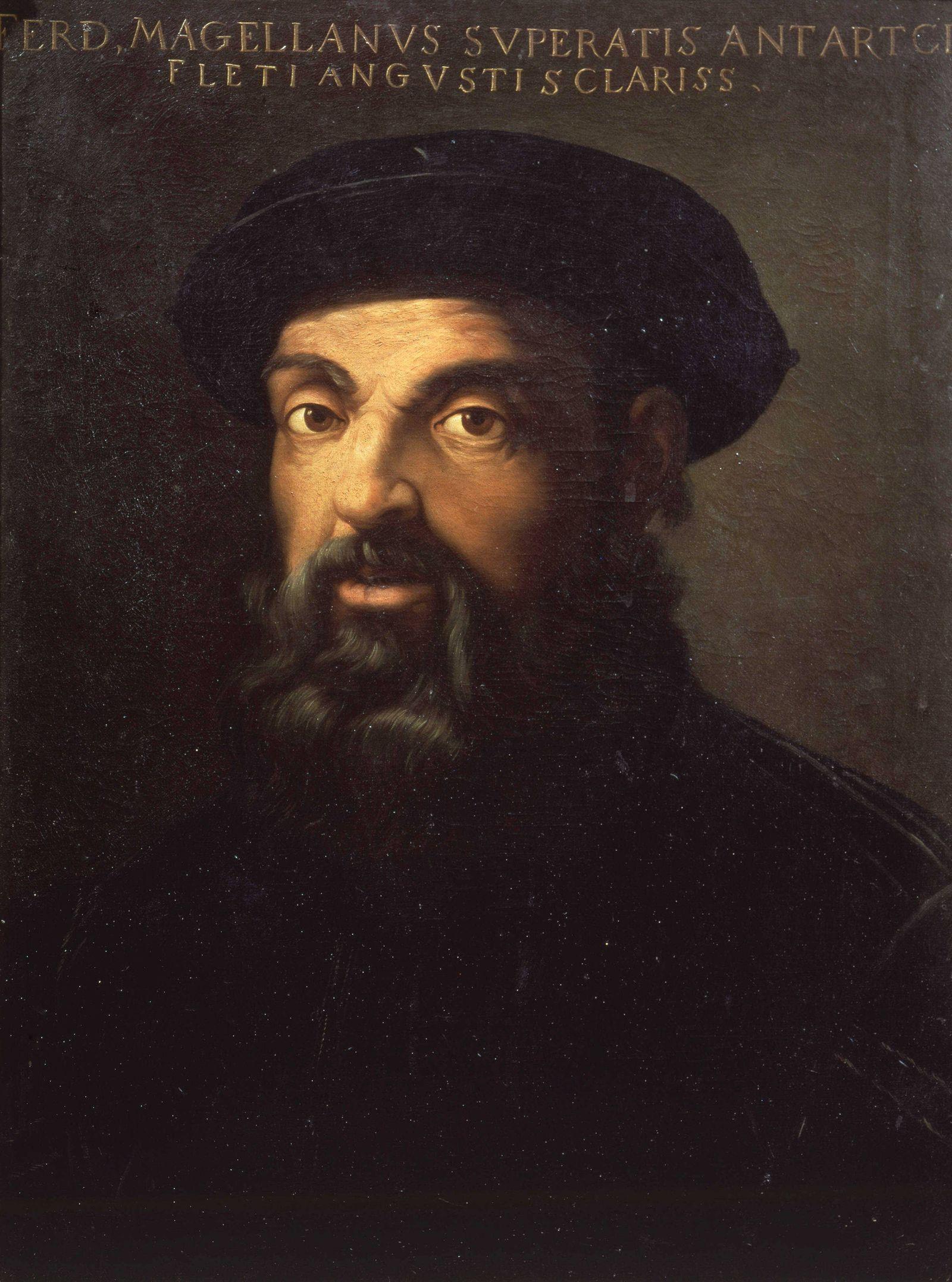 Portrait de Magellan - MusÈe Municipal de SÈville !AUFNAHMEDATUM GESCH?TZT! PUBLICATIONxINxGERxSUIxAUTxHUNxONLY COS0010