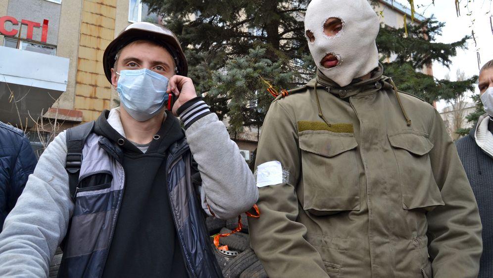 Aufstand gegen Kiew: Die Milizionäre von Donezk
