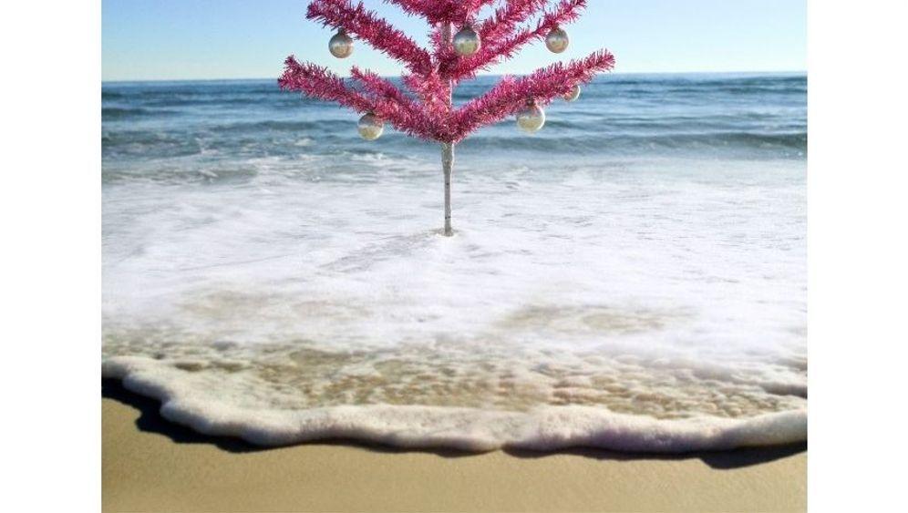 Futuristische Weihnachten: Der Baum von einem anderen Planeten