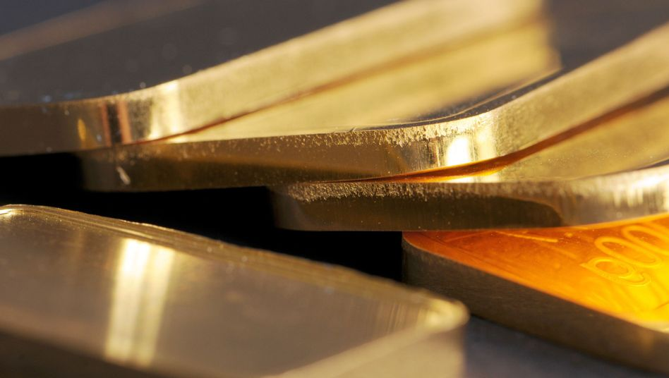 Goldbarren (Symbolbild)