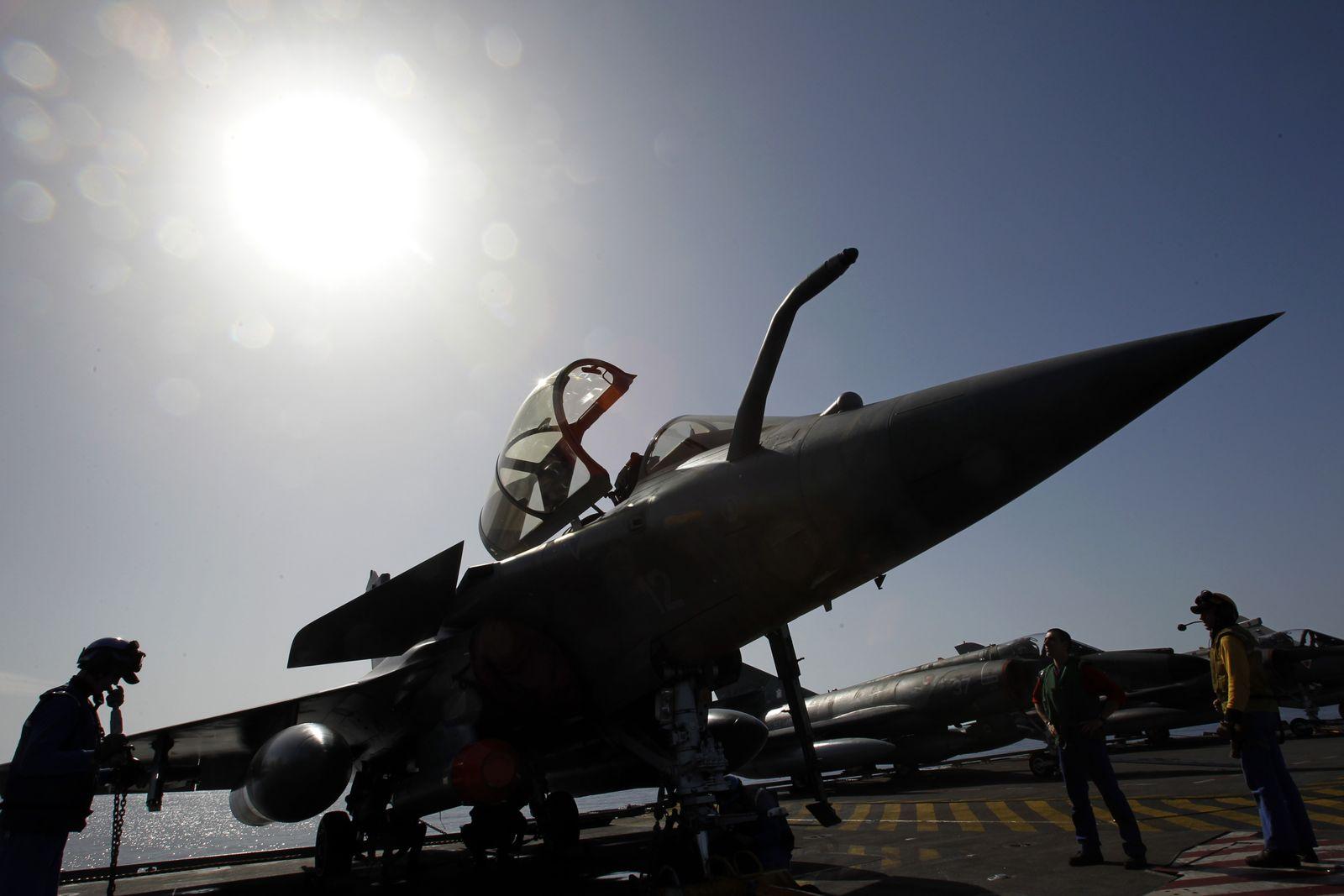 Libyen/ NATO/ Rafale/ Jet