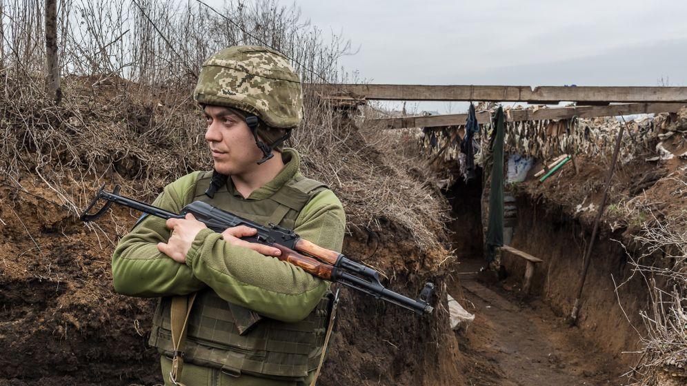 Ukrainischer Frontsoldat bei Tschermalyk: »Die Schafe da vorn könnten wir schießen«