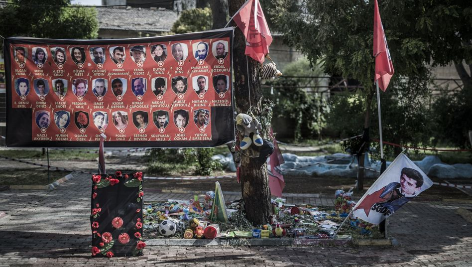 Thirty-two people were killed on July 20 when a suicide bomber attacked a group of youth activists in the Turkish town of Suruc. The bomber was reported to be an ethnic Kurd with ties to Islamic State militants.