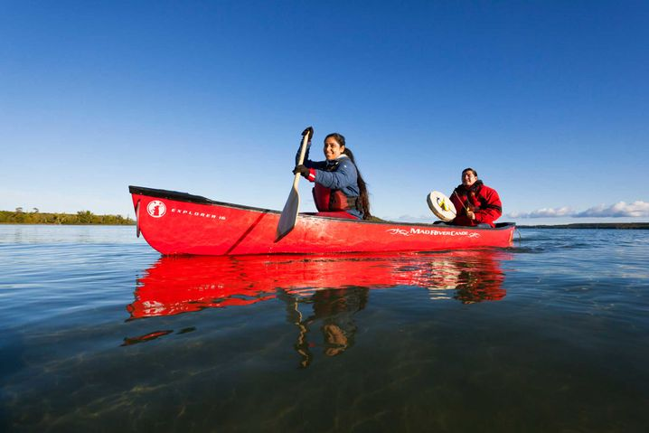 Eins werden mit der Natur: beim Kanufahren um Manitoulin Island im Nordosten von Ontario