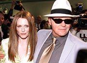 """Mit """"Hannibal"""" vertreten: Anthony Hopkins und Julianne Moore"""