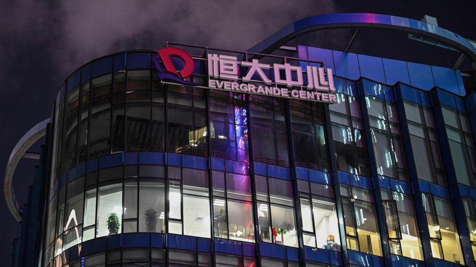 Evergrande-Center in Shanghai (Archivbild)