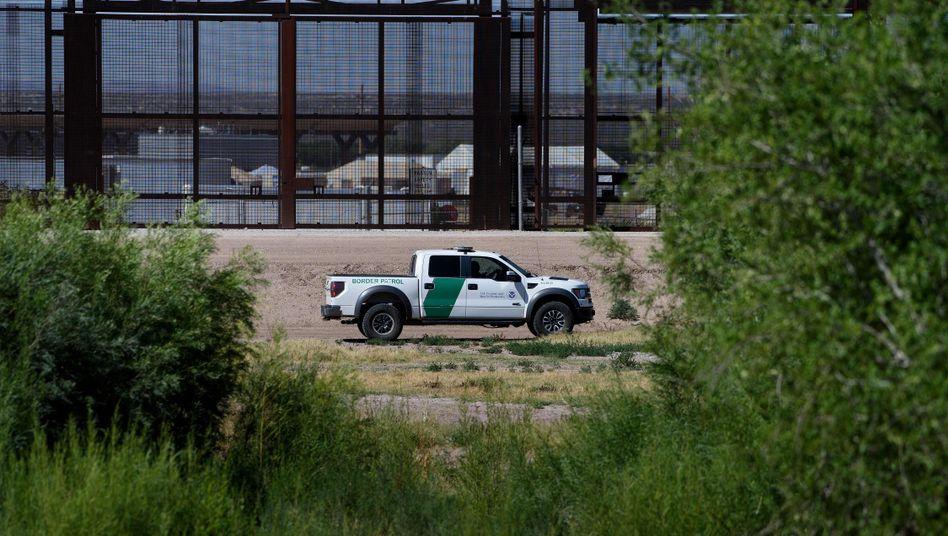 US-Grenzpolizei an der Grenze zu Mexiko