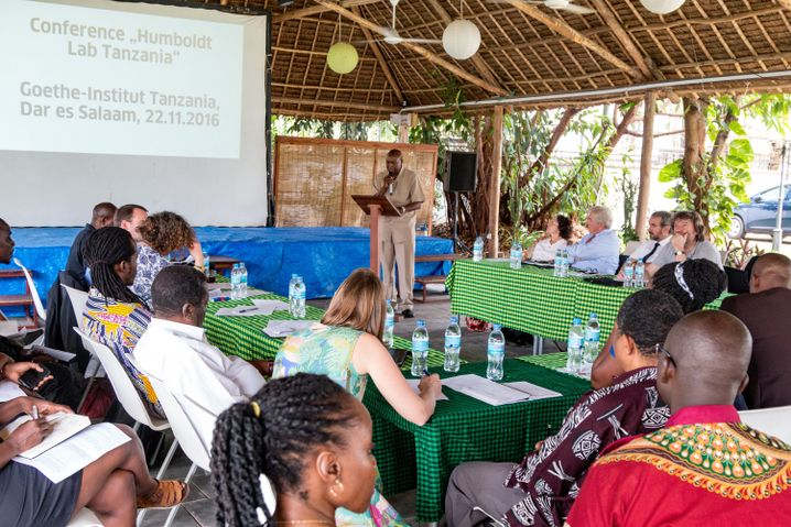 Konferenz im Humboldt Lab Tanzania in Dar es Salaam (November 2016)