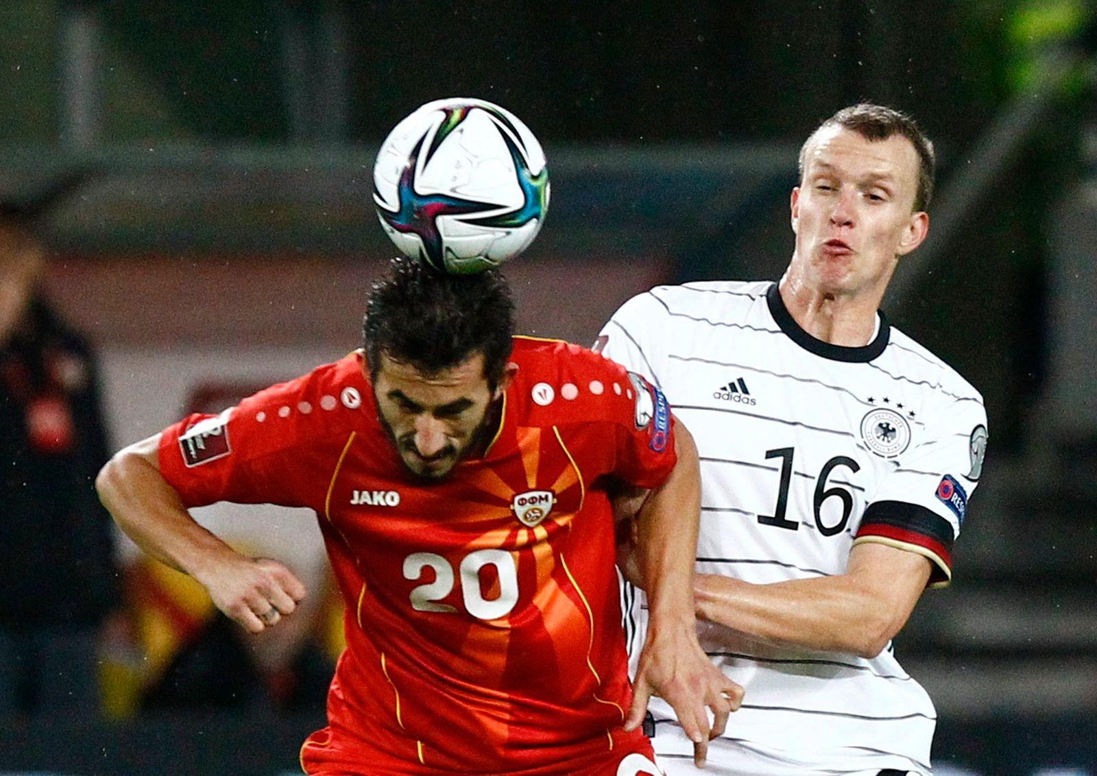 World Cup - UEFA Qualifiers - Group J - North Macedonia v Germany