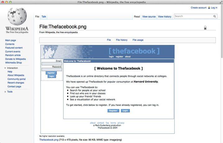 Facebook 2004: So sahen die Anfänge aus