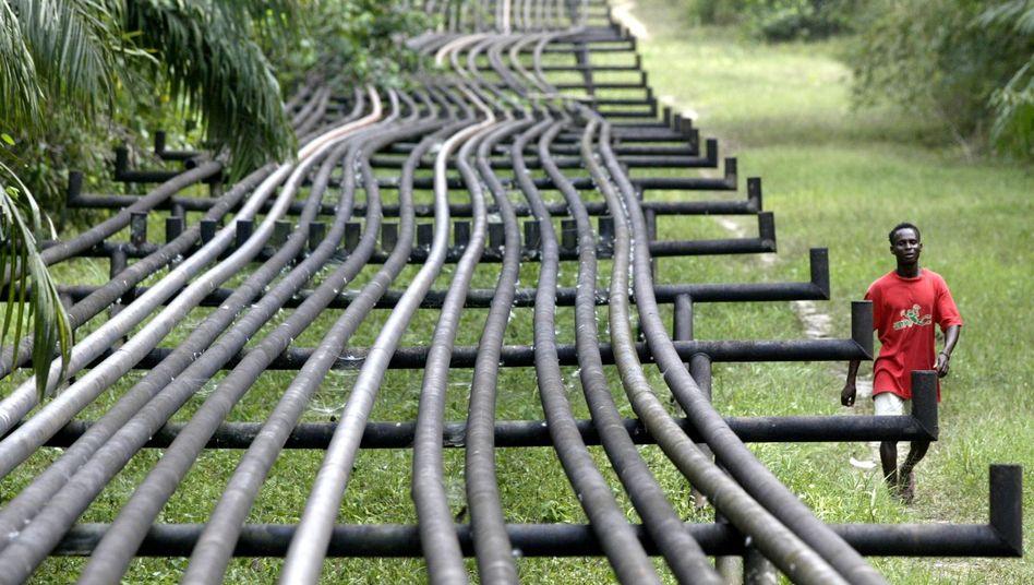 Ölpipelines in Nigeria