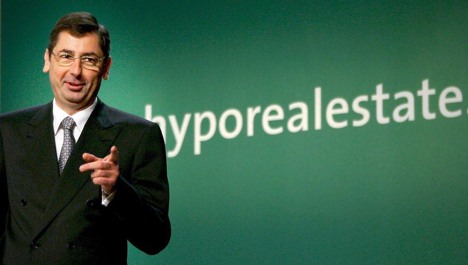Ex-HRE-Chef Funke im Jahr 2007: Anleger über desaströse Lage getäuscht
