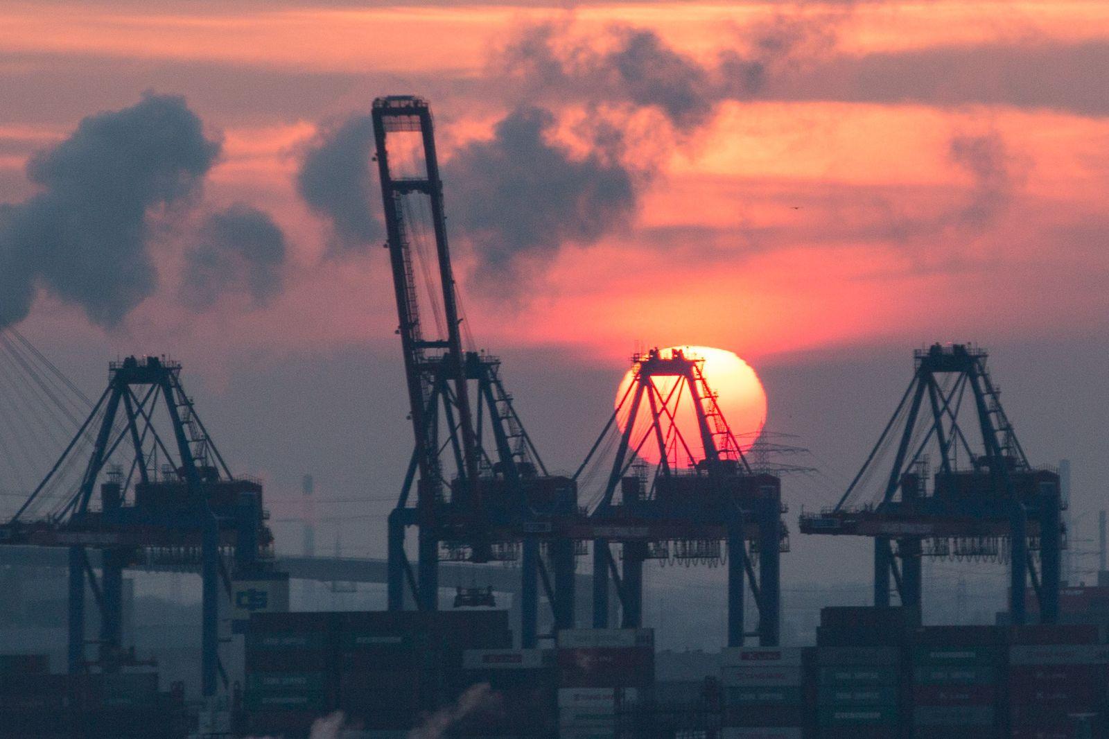 Deutschland / Konjunktur / Export / Hamburger Hafen