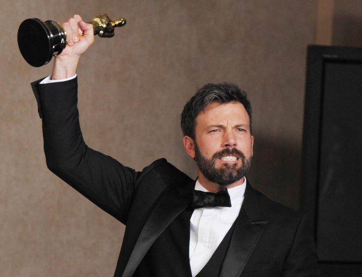 """...mit Ben Affleck, der bei """"Argo"""" Regie geführt hatte."""