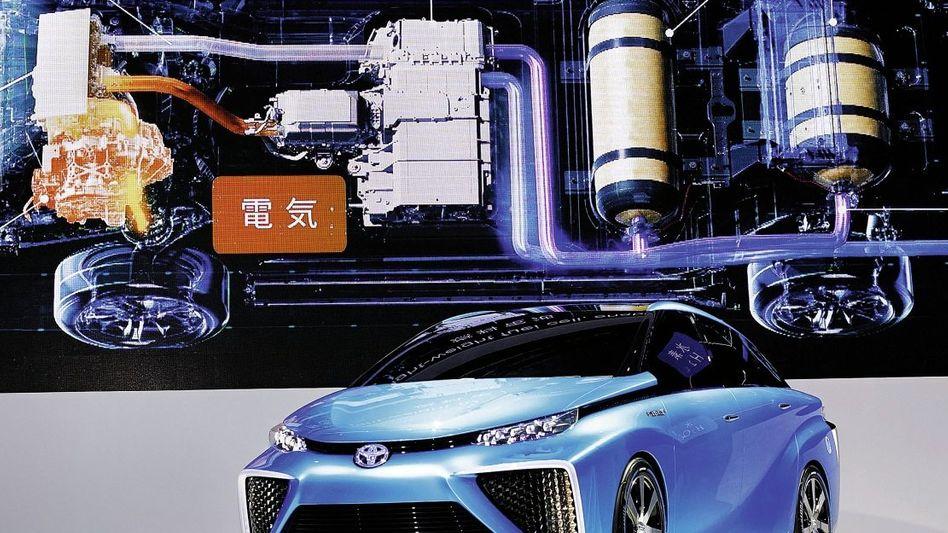 Brennstoffzellen-Auto von Toyota