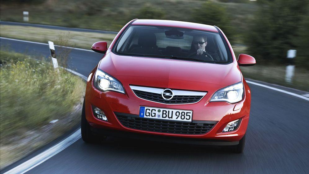 Opel Astra: Der muss sitzen
