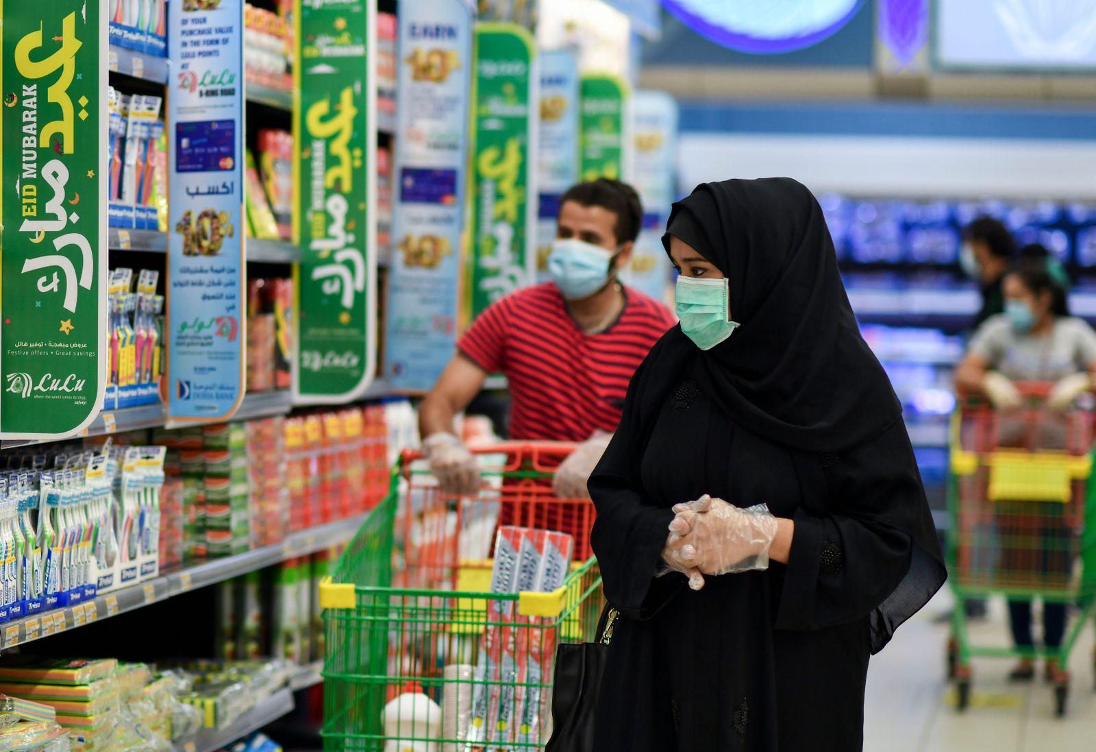 Daily life in Doha-Qatar during coronavirus pandemic - 23 May 2020