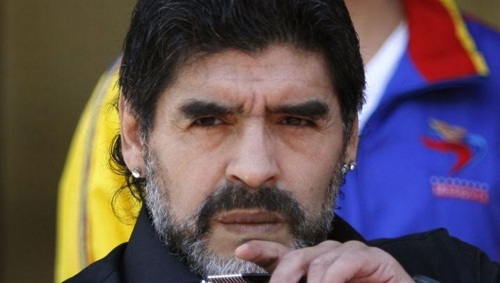 Maradona entlassen: Ein Idol nimmt Abschied
