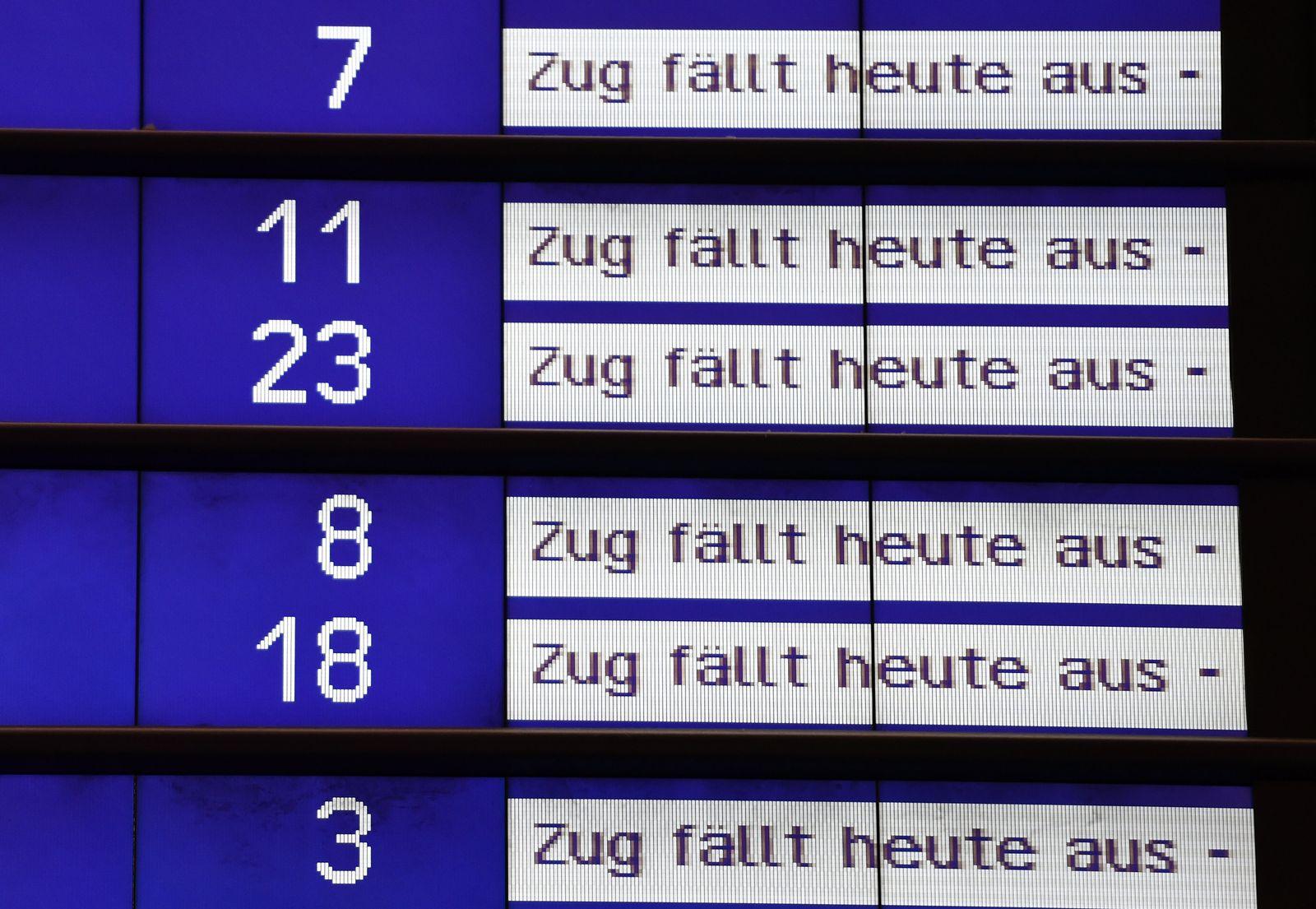 Friederike / Bahn