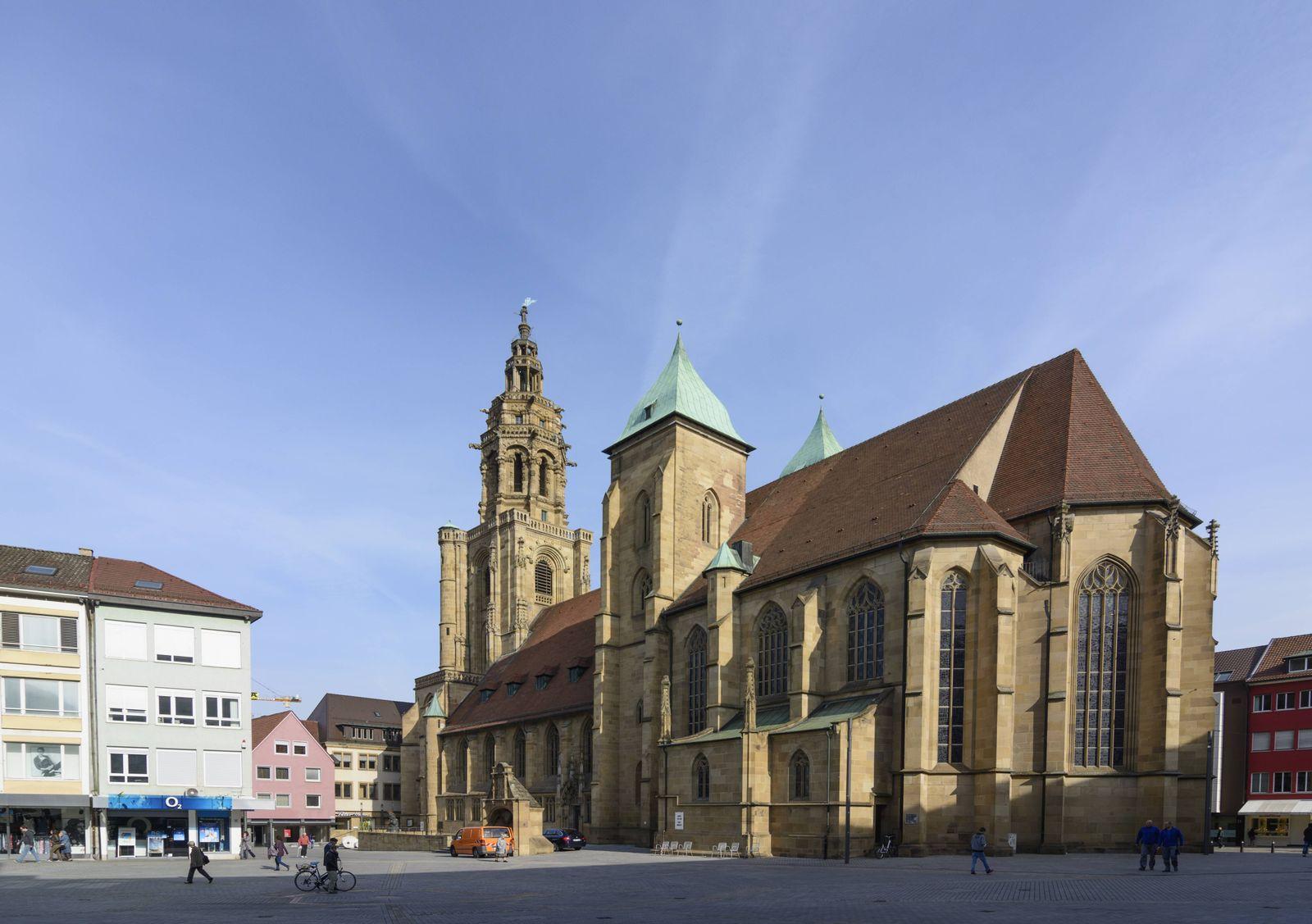 EINMALIGE VERWENDUNG Heilbronn/ Kilianskirche
