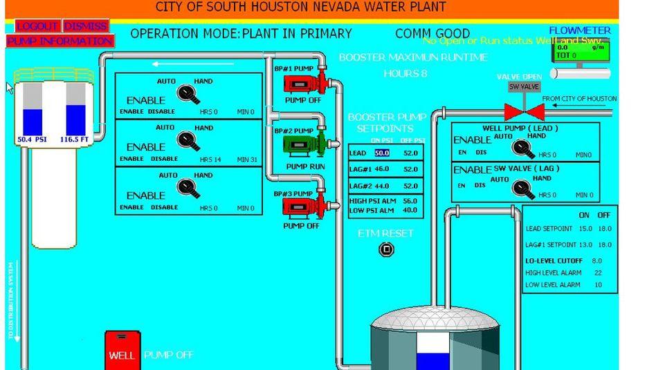 Angeblicher Screenshot eines Wasserwerks: Hacker brüstet sich mit System-Zugriff