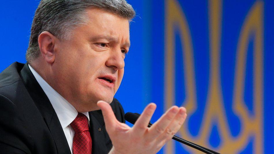 Ukraines Präsident Poroschenko: Neue Viererrunde geplant
