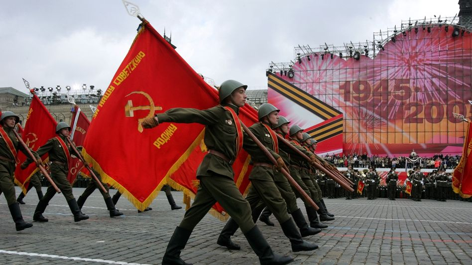 """Militärparade auf dem Roten Platz in Moskau: """"Deutsche sind oberlehrerhaft"""""""