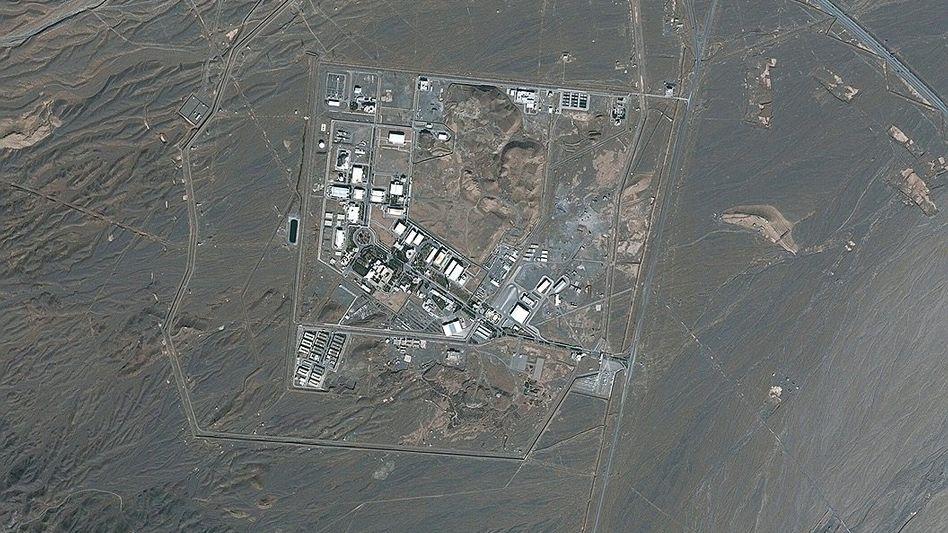 Nuklearanlage Natans