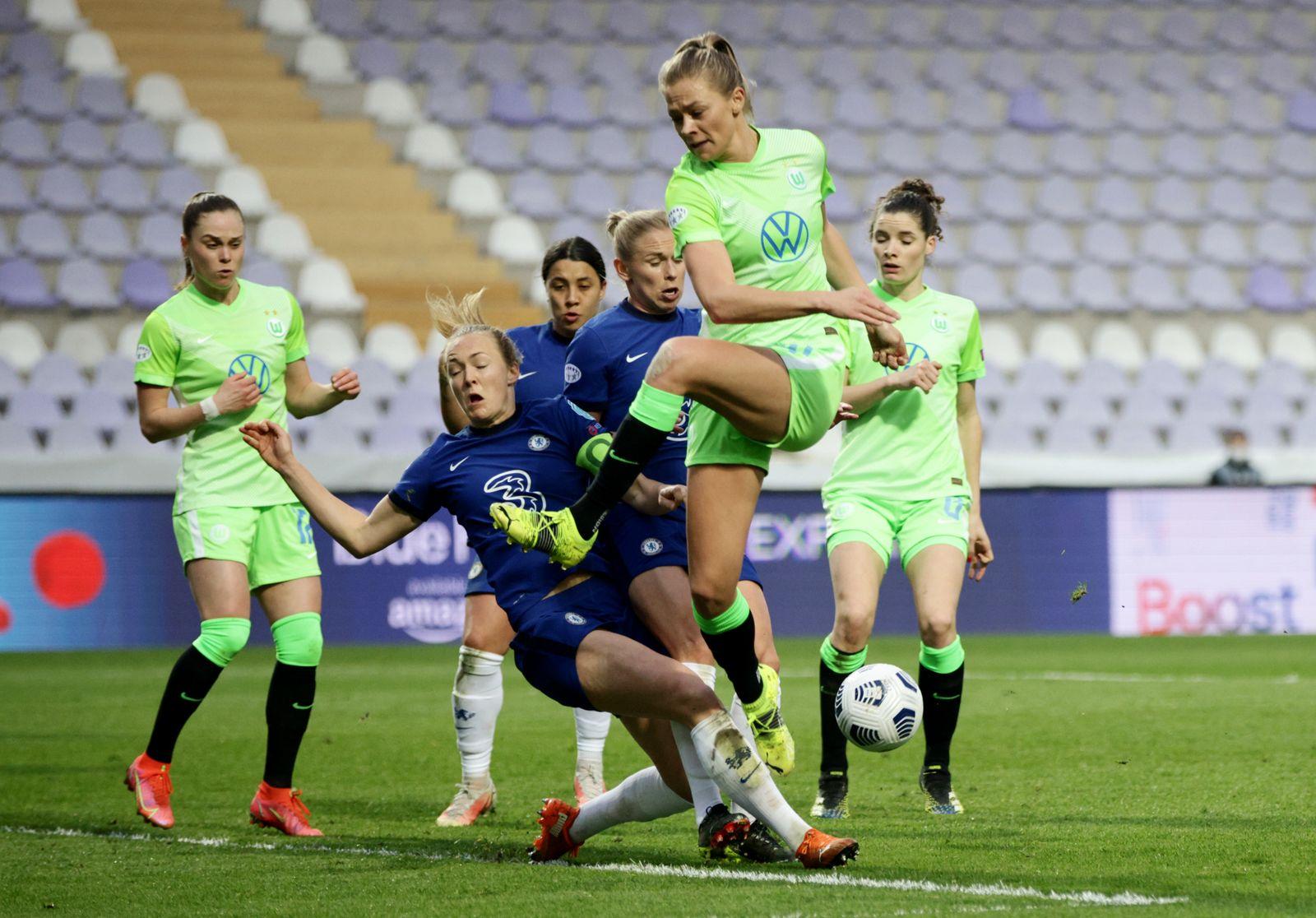 Women?s Champions League - Quarter Final First Leg - Chelsea v VfL Wolfsburg