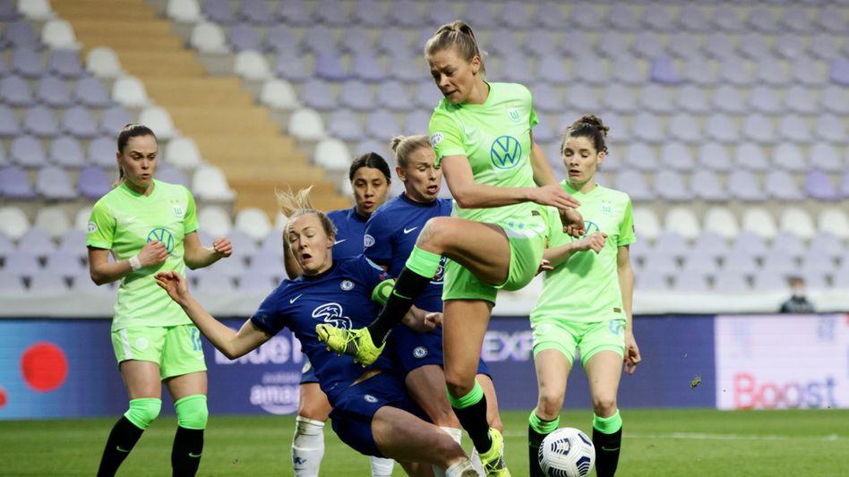 Viele Abschlüsse, kein Treffer: Fridolina Rolfö