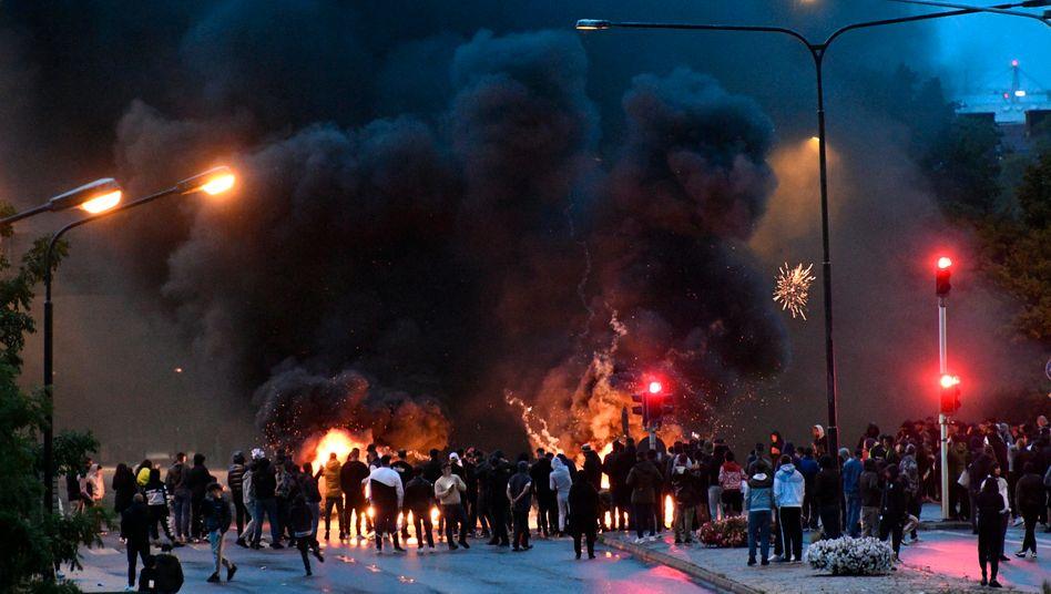 Proteste im südschwedischen Malmö