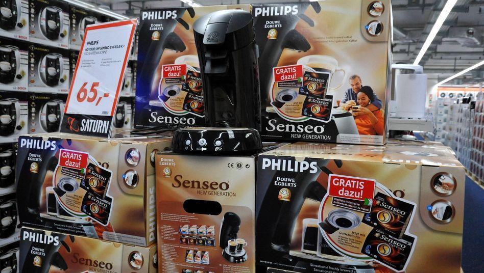 Senseo-Espressomaschinen von Philips: verkauft an asiatischen Investor