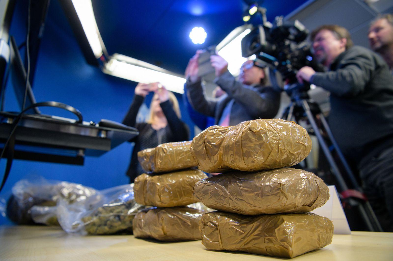 LKA Bayern stellt größten geklärten Rauschgiftfall vor