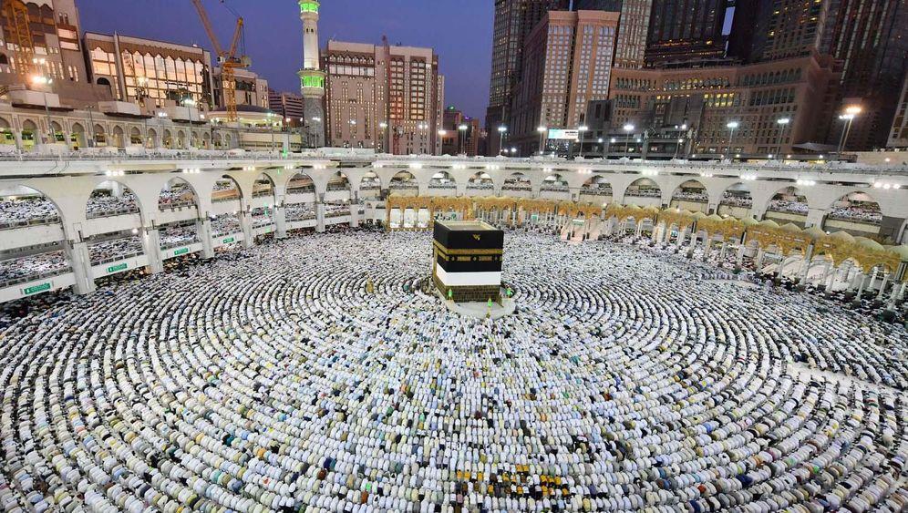 Der Hadsch: Pilgermassen in Saudi-Arabien