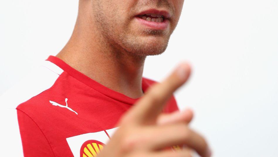 Sebastian Vettel: Ärger nach dem Reifenplatzer