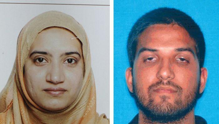 Attentäter Tashfeen M. und Syed F.: Ermittler gehen von Selbstradikalisierung aus
