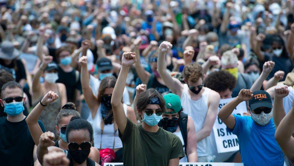 Anti-Rassismus-Demonstration in Austin, Texas