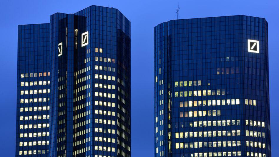 Deutsche Bank in Frankfurt: Neues Kapital aus Katar
