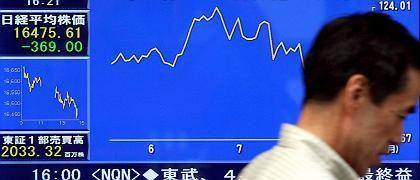 """Börsenbarometer in Tokio: """"Das Vertrauen der Märkte schrumpft"""""""