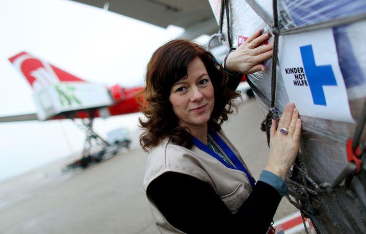 Angelika Böhling von Kindernothilfe: Einnahmenplus von fünf bis sechs Prozent