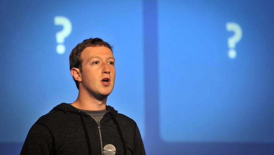 """Facebook-Chef Zuckerberg: """"Ich habe nichts von Prism gewusst"""""""