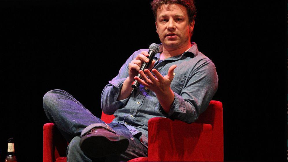 Gewicht von Starkoch Jamie Oliver: Pfundskerl