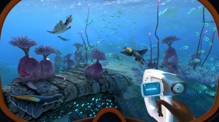In »Subnautica« darf der Spieler die Weltmeere erkunden oder sich um den Bau einer Unterwasserbasis kümmern