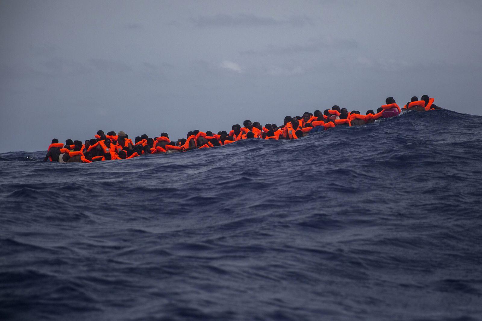 EINMALIGE VERWENDUNG EU Libya Migrants