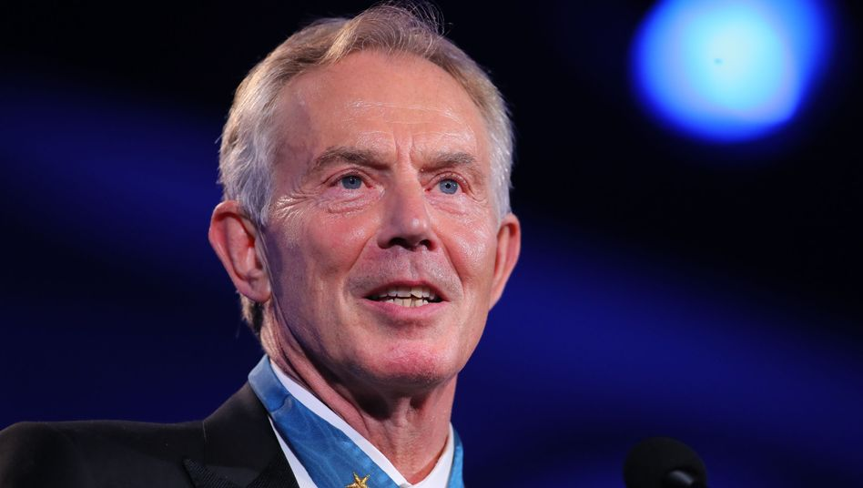 Tony Blair, britischer Ex-Premier